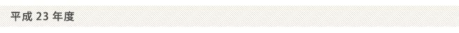 (日本のISS認証実績)平成23年度